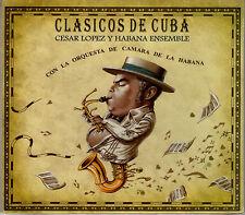 CD Clasicos de Cuba Cesar Lopez y Habana Ensemble Musica Cubana World Music