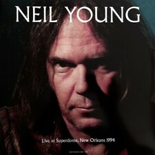 LP - Neil Young ‎– Live at Superdome, New Orleans 1994 (NM/NM)
