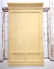 DOLLHOUSE MINIATURE FURNITURE  WALL PANEL - VINTAGE STYLE FRENCH DOLLHOUSE
