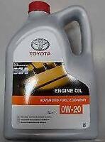 Genuine 5 Litre Toyota Hybrid 0W20 Synthetic Motor Oil 08880-83265