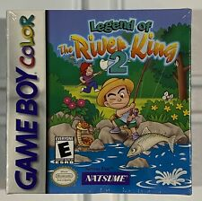 Legend of the River King 2 (Game Boy Color GBC) NEW SEALED!