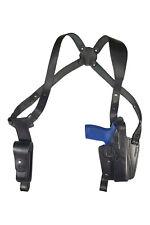 S24 Leder Schulterholster für Sig Sauer P320 M17 Full Size schwarz VlaMiTex