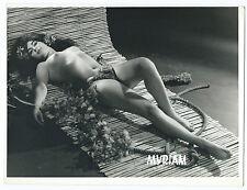 Photo curiosa / Myriam sexy lady pin-up tahitienne vahiné vers 1960
