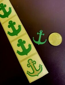 ~~50~~ ANCHOR TANNING BODY STICKERS / CRAFTS ~ TEAL