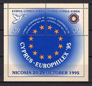 CYPRUS 1995 EUROPHILEX '95 PHILATELIC EXHIBITION - MINIATURE SHEET MNH