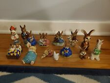 Lot of Bunnykins & Other Rabbits Storytime Goebel Doulton