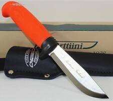 Marttiini Finland INOX Hunters Orange Hunting Skinning Camping Fishing Knife
