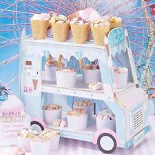 ICE CREAM cupcake van Cars Display Stand Birthday party wedding Favor Hot Gift