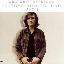 KRIS KRISTOFFERSON THE SILVER TONGUED DEVIL AND I CD NEW