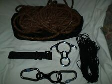 LOT AMP. & Black Diamond Mountain Rock Climbing Caving Gear Mounts  Rope