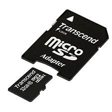 Transcend microSDHC 32GB Computer Zubehör Speicherkarten Micro SD Beste NEU