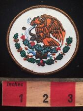 Mexican Coat Of Arms Mexico Patch - Latin America - Eagle Emblem 00A4
