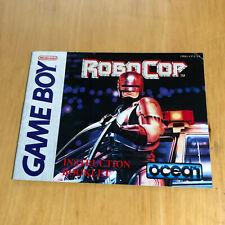 Nintendo Gameboy Manual Only - Robocop