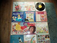 CHILDRENS ALBUMS X 23 - WOMBLES - PINKY PERKY - RUPERT - SECRET 7 - STEWPOT ETC