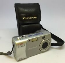 Olympus CAMEDIA C-310 Zoom / D-540 Zoom 3.2MP Digital Camera - Silver+ case# 280