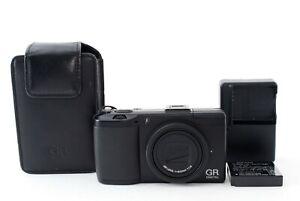 "Ricoh GR Digital III 10.0MP Digital Camera Black w/Case ""Excellent"" #20624"