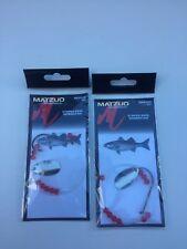2 Matzuo Striper Spinner & Red Bead Fishing  Rigs 65# Line MR2053