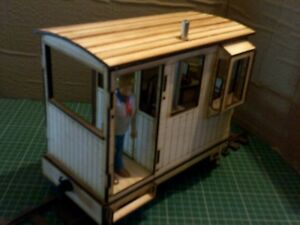 SEVEN EIGHTH SCALE GUARDS VAN