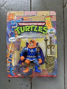 1992 Playmates TMNT Ninja Turtles KING LIONHEART MOC Unpunched