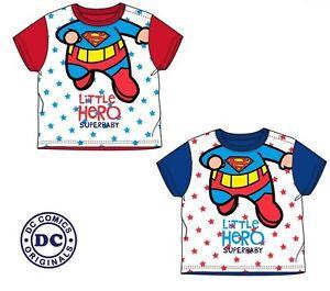 New Cute Super Baby Toddler Boy Girl  Little Hero T-Shirt Top 100% Cotton