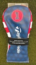 TAYLORMADE TM17 US OPEN Driver Headcover Golf Accessory NEW Red White Blue
