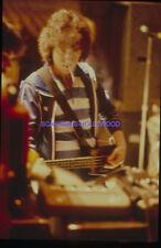 BILL WYMAN THE ROLLING STONES 1980s DIAPOSITIVE DE PRESSE ORIGINAL SLIDE #31