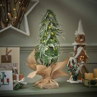 50cm Pre Lit LED Light Up Mini Table Christmas Tree Decoration | Indoor Home