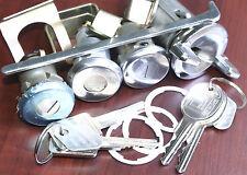 Holden MONARO Barrel Key Ignition Lock Doors Set 4 HQ HJ HX TORANA LJ LH LX