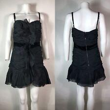Rare Vtg Dolce & Gabbana D&G Black Dress L
