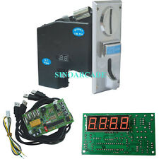 JY-926 Multi Coin acceptor + JY-18A time control board Kit For Vending machine