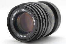 【Excellent+】Minolta M-Rokkor 90mm f/4 Lens for Leica M mount from Japan - # 42