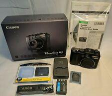 Canon PowerShot G9 12.1 MP Digital Camera 6x Optical Image Stabilized Zoom Box