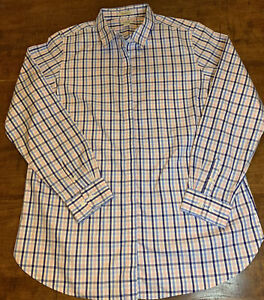 L.L. Bean Women's Wrinkle Free Long Sleeve Button Down Size Large