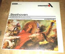 SEALED Beethoven Symphony no 5 Ansermet SDD 105 LP L'OSR Grooved FFRR Decca