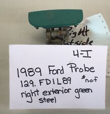 Used Vintage Ford Probe 1989' Right exterior car door handle (drivers quality)