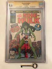 Savage She-Hulk #1 CGC 9.6 SS Stan Lee! Origin & 1st She-Hulk! Bronze Age Key!