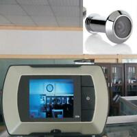 Smart LCD Video Eye Doorbell Wireless HD Video Camera Motion Peephole Ring