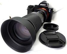 Vintage Declicked 80-210mm F3.8/4 Zoom Cine Lens Sony E NEX Mount Fs7 A7s A7r