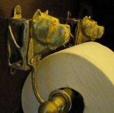 CANE CORSO Bronze Toilet Paper Holder OR Paper Towel Holder!