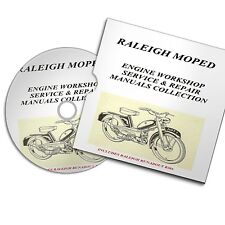 RALEIGH MOPED ENGINE WORKSHOP SERVICE AND REPAIR MANUALS COLLECTION RM 4 5 6 7 8