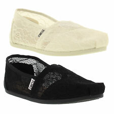 Tom's Canvas Slip On Shoes for Women