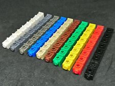 Lego Bricks 1x1 Side Stud Indented [4070] - Various Colours x80