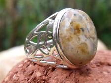 Jaspe De Plata 925 Anillo Tamaño M * Us 6,25 silverandsoul artesanales de joyas