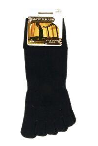 Mato & Hash 5 Toe Active Athletic Performance Sport Toe Socks