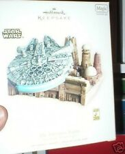 STAR WARS HALLMARK MILLENNIUM FALCON SOUND & LIGHT MIB