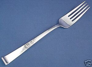 """CLASSIC ROSE- REED & BARTON  STERLING FORK(S) - 7 3/8"""""""