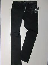 """ATTICUS- WOMENS 32"""" CAVERN 2 BLACK JEANS- SLIM TIGHT FIT-NEW (Blink 182 Muse) 12"""