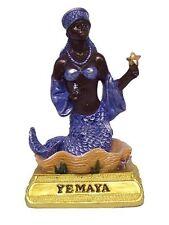 """4"""" Yemaya Statue Orisha Yemoja Yoruba Santeria Lucumi African Goddess"""
