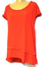 Taking Shape Cap Sleeve Viscose Tops & Blouses for Women