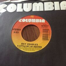 Ray Charles-A Littly Bit Of Heaven/Dixie Moon Unplayed 45 rpm